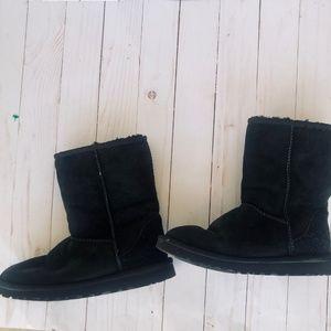 UGG - Authentic Black Short Uggs